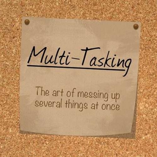 Multi Tasking Cork Poster Print by Lauren Gibbons - Item # VARPDXGLSQ049D