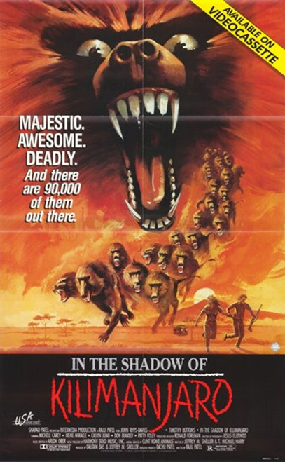 In the Shadow of Kilimanjaro Movie Poster (11 x 17) - Item # MOV299603