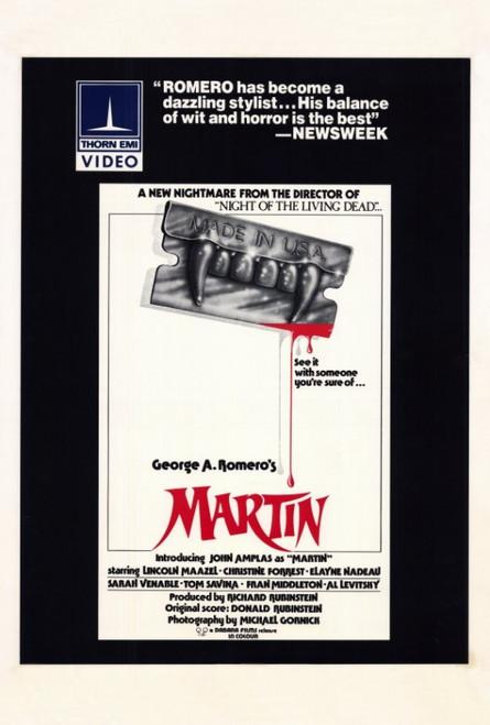 Martin Movie Poster Print (27 x 40) - Item # MOVEF9314