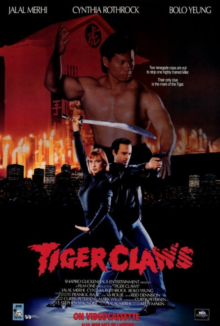 Tiger Claws Movie Poster Print (27 x 40) - Item # MOVEF8410