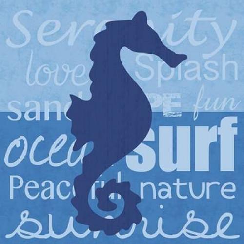 Beach Horse Poster Print by Lauren Gibbons - Item # VARPDXGLSQ145B