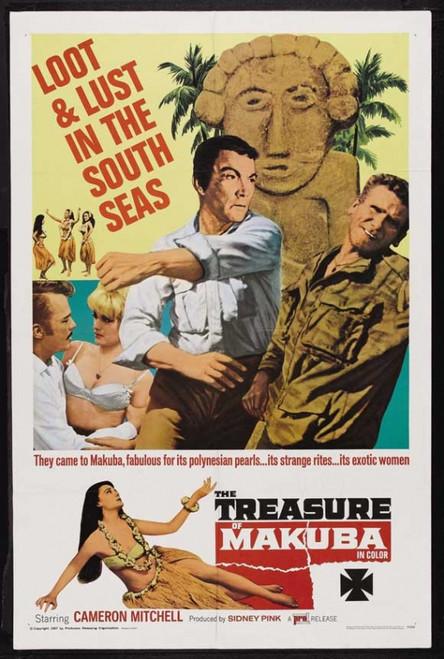 The Treasure of Makuba Movie Poster Print (27 x 40) - Item # MOVEJ1654