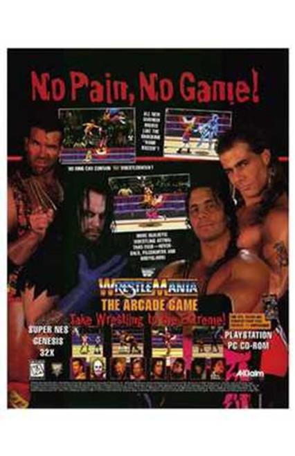 Wwf Wrestlemania Movie Poster (11 x 17) - Item # MOV231000