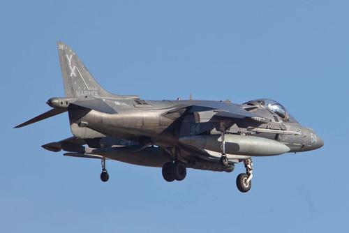 An AV-8B Harrier II flying over Yuma, Arizona Poster Print by Timm Ziegenthaler/Stocktrek Images - Item # VARPSTTZG100342M