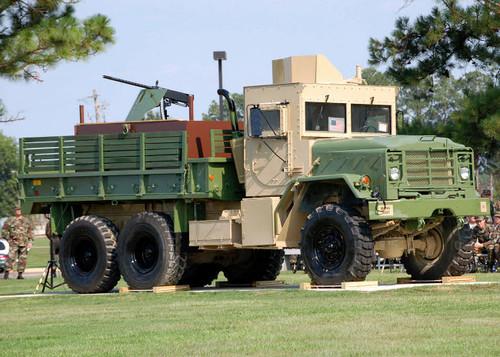 Air Force Gun Truck Poster Print by Stocktrek Images - Item # VARPSTSTK102555M