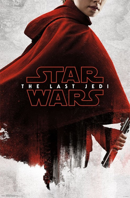 Star Wars The Last Jedi - Red Rey Poster Print - Item # VARTIARP16229
