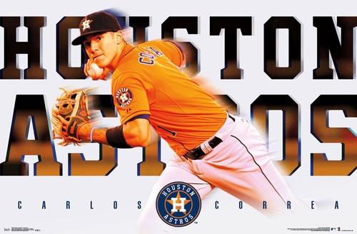 Houston Astros - Carlos Correa Poster Print - Item # VARTIARP15658