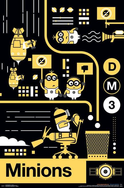 Despicable Me 3 - Assembly Poster Print - Item # VARTIARP14943