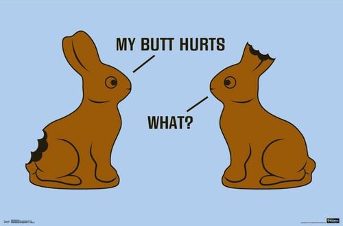 My Butt Hurts Poster Print - Item # VARTIARP15860