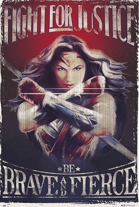 Wonder Woman - Fight Poster Print - Item # VARXPE160585