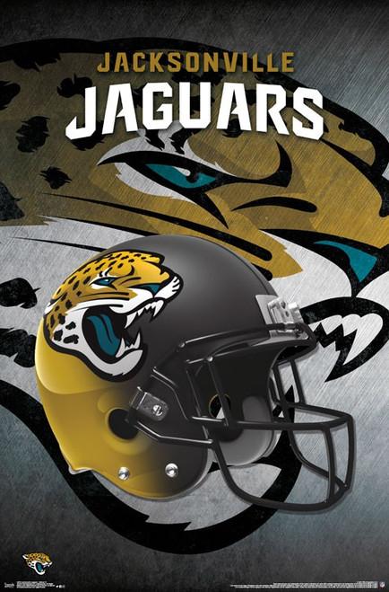 Jacksonville Jaguars - Helmet Poster Print - Item # VARTIARP15702