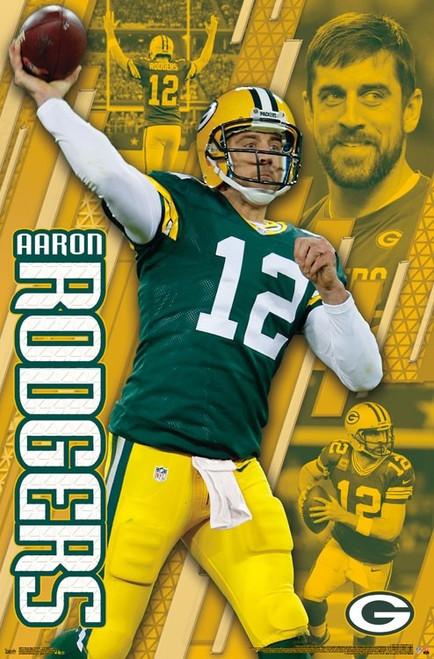 Green Bay Packers - Aaron Rodgers Poster Print - Item # VARTIARP16013