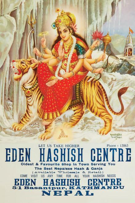 Eden Hashish Centre Nepalese Smoke Shop Ad Art Poster Print - Item # VARXPS1519