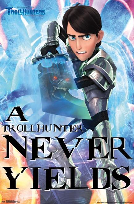 Trollhunters - Never Yields Poster Print - Item # VARTIARP15611