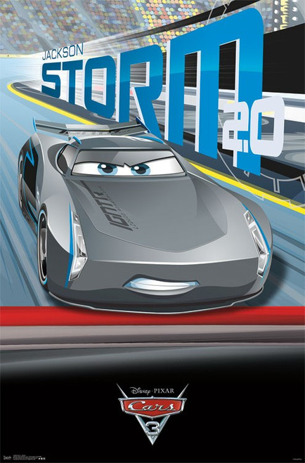 Cars 3 - Storm Poster Print - Item # VARTIARP15094