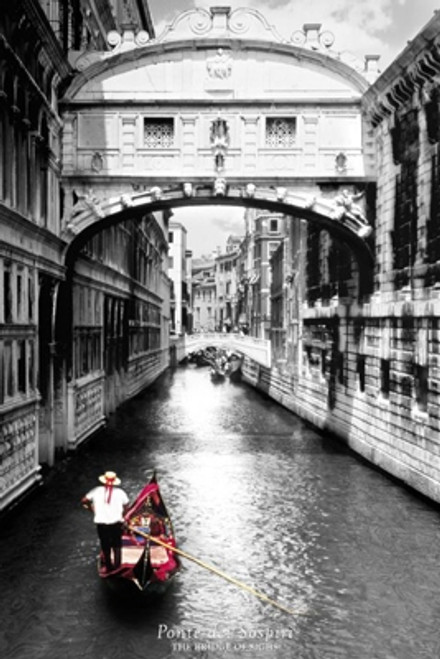Bridge Of Sighs Venice Poster Print - Item # VARXPS33375