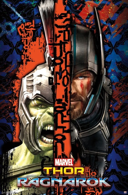 Thor Ragnarok - Split Poster Print - Item # VARTIARP15271