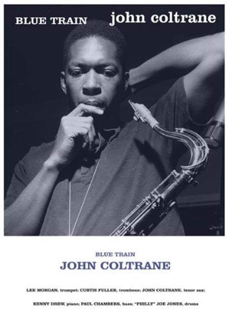 John Coltane Blue Train Poster Print - Item # VARXPS1510