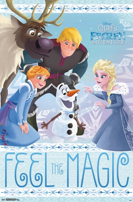 Olaf's Frozen Adventure - Group Poster Print - Item # VARTIARP15616