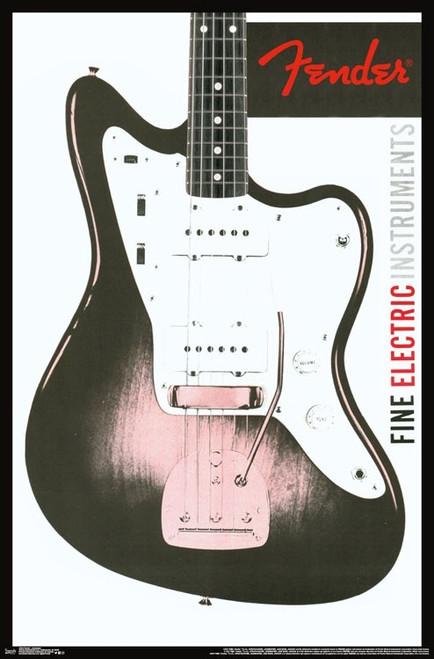 Fender - Jazzmaster Poster Print - Item # VARTIARP15342