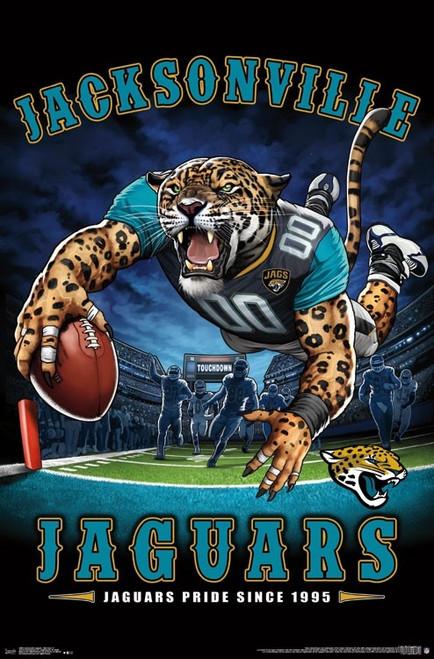 Jacksonville Jaguars - End Zone Poster Print - Item # VARTIARP15983