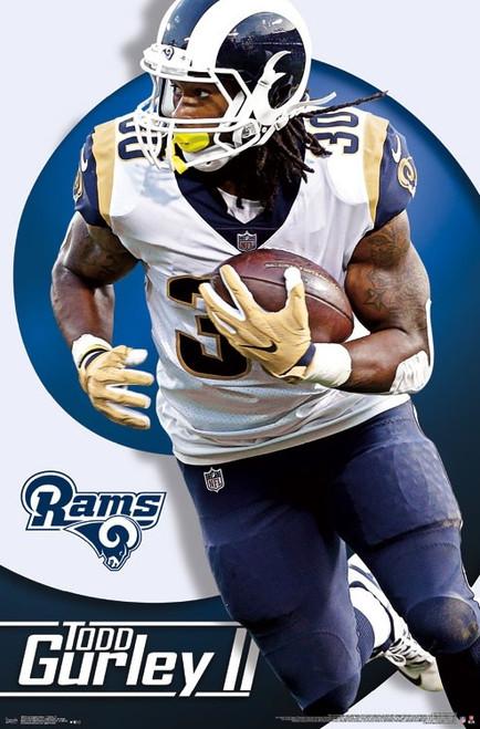 Los Angeles Rams - Todd Gurley Poster Print - Item # VARTIARP16018