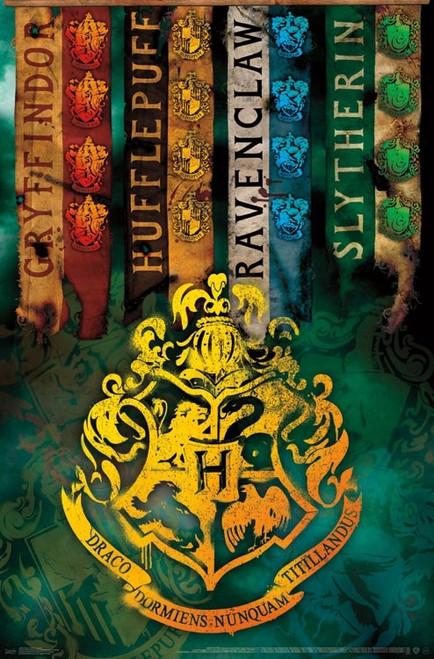 Harry Potter - Crests Poster Print - Item # VARTIARP15961