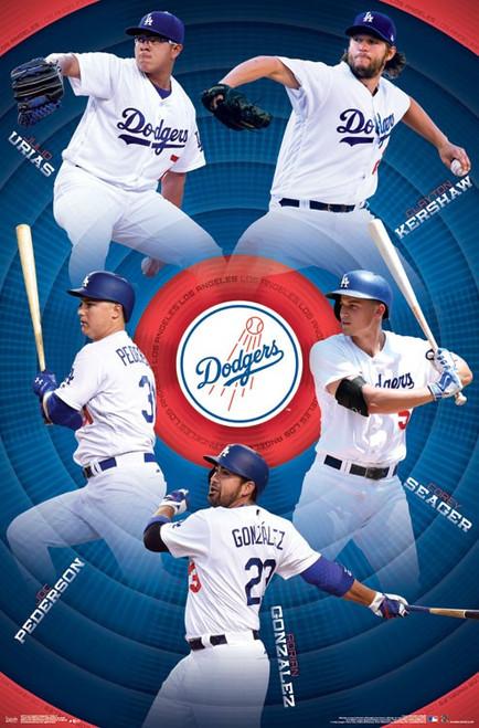 Los Angeles Dodgers_ - Team Poster Print - Item # VARTIARP15772