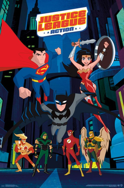 Justice League Action - Collage Poster Print - Item # VARTIARP15500