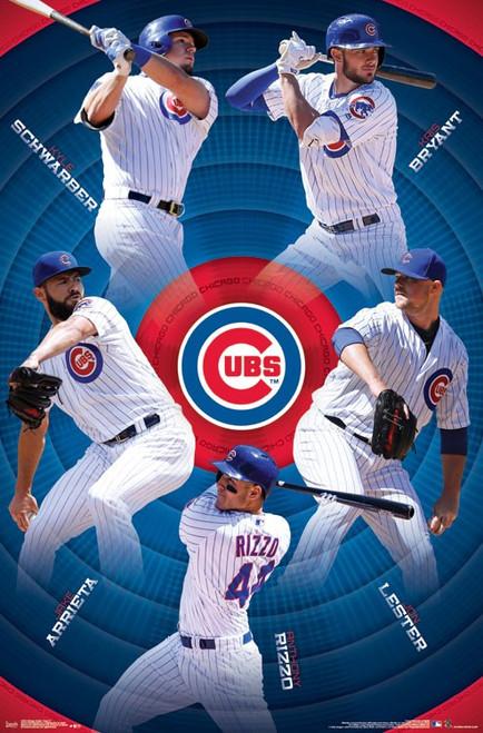 Chicago Cubs_ - Team Poster Print - Item # VARTIARP15763