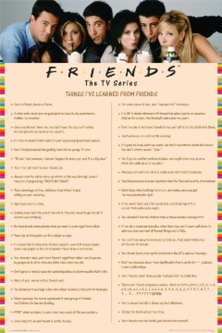 Friends Poster Print - Item # VARSCO5622