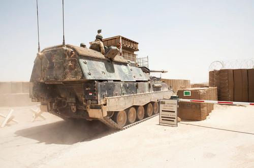 Howitzer tank in Afghanistan Poster Print by VWPics/Stocktrek Images - Item # VARPSTVWP100141M