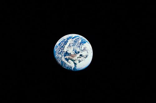 Long Shot of Earth Poster Print by Stocktrek Images - Item # VARPSTSTK201073S