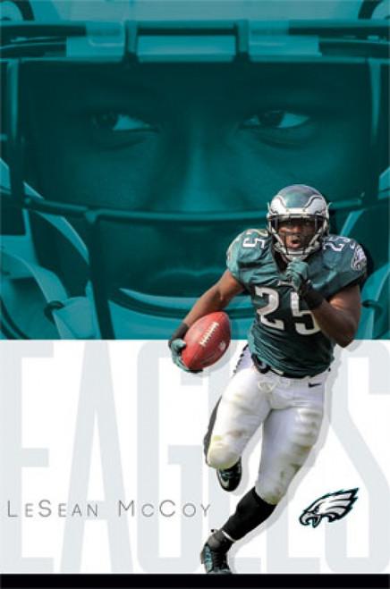 Philadelphia Eagles - L McCoy 14 Poster Print - Item # VARTIARP13670