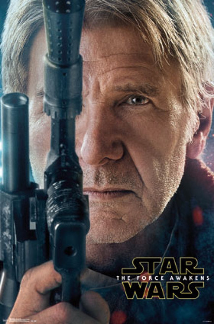 Star Wars The Force Awakens - Han Portrait Poster Print - Item # VARTIARP14584
