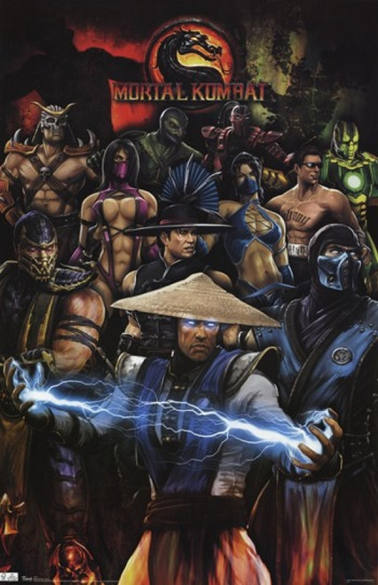 Mortal Kombat - Group Poster Print - Item # VARTIARP1272