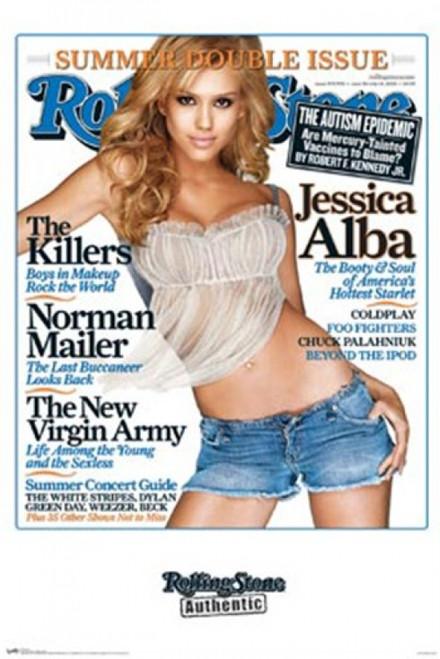 Rolling Stone - Jessica Alba Poster Print - Item # VARTIARP9740