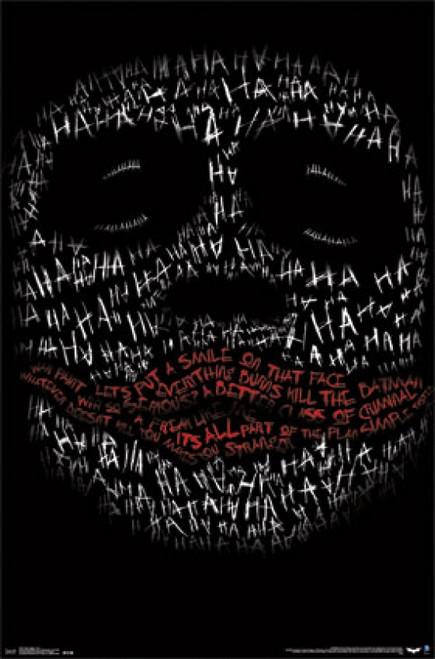 The Dark Knight - Joker Face Poster Print - Item # VARTIARP14217