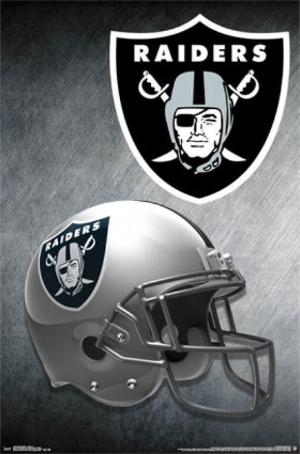 Oakland Raiders - Helmet 15 Poster Poster Print - Item # VARTIARP14167