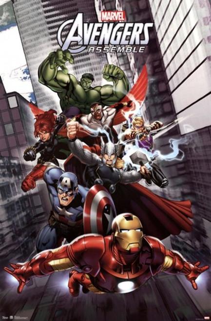 Marvel Avengers Assemble Poster Print - Item # VARTIARP5894