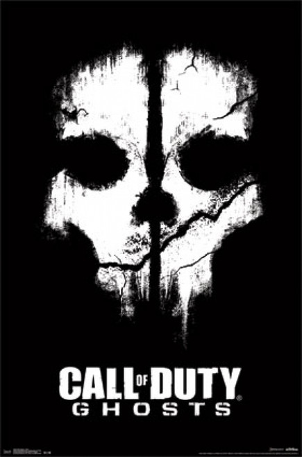 Call of Duty - Ghosts - Skull Poster Print - Item # VARTIARP13105
