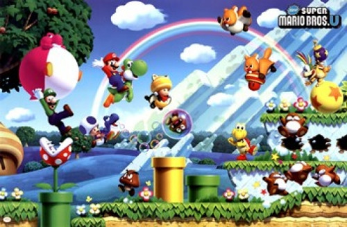 Super Mario Bros - U Poster Print - Item # VARTIARP0474