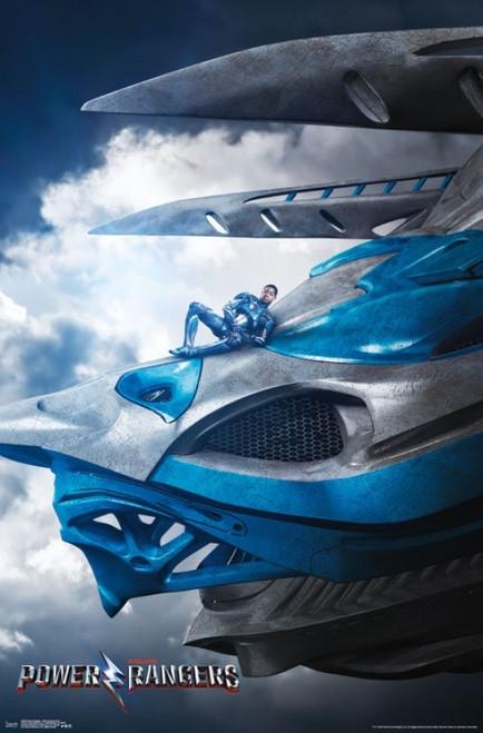 Power Rangers - Blue Ranger Zord Poster Print - Item # VARTIARP15390