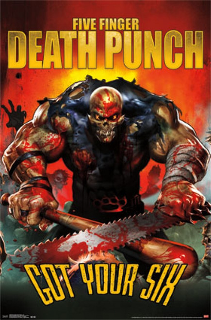 Five Finger Death Punch - Got Your Six Poster Print - Item # VARTIARP14368