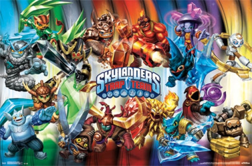 Skylanders Trap Team - Masters Poster Print - Item # VARTIARP13629