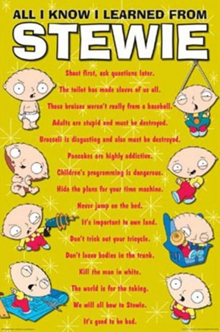 Family Guy - Stewie Know It All Poster Print - Item # VARTIARP7782