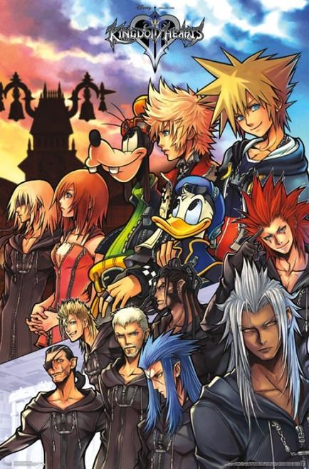 Kingdom Hearts - Group Poster Print - Item # VARTIARP15139