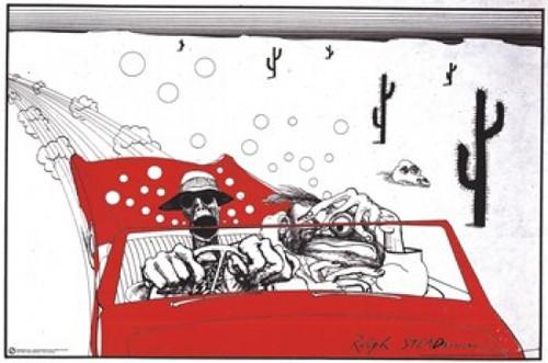 Fear & Loathing - Ralph Steadman Poster Print - Item # VARTIARP7624