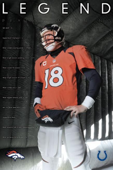 Denver Broncos - Peyton Manning 16 Poster Print - Item # VARTIARP14745