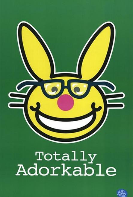 Happy Bunny - Nerds Poster Print - Item # VARTIARP1436